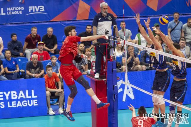 Волейбольный спектакль мирового уровня