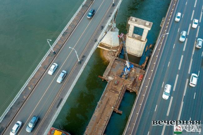 Мостостроители трудностей не боятся